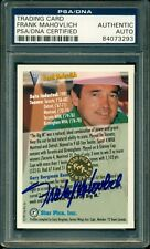 FRANK MAHOVLICH AUTOGRAPH AUTO SIGNED ON HOF TRADING CARD PSA/DNA Slabbed