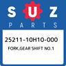 25211-10H10-000 Suzuki Fork,gear shift no.1 2521110H10000, New Genuine OEM Part