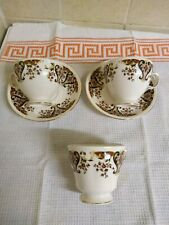 Colclough royale china.3 cups and 2 saucers