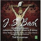 J.S. Bach: St. Matthew Passion; Mass in B minor (2015)