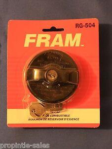FRAM LOCKING Gas / Fuel Cap ~ RG-504