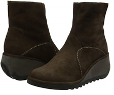 Fly London Women's Nest NEST056FLY Wedge Ankle Boots UK 4