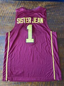 Sister Jean Signed Jersey Psa Dna Coa Autographed Loyola Chicago Ramblers