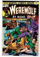 Marvel - Werewolf By Night #24 - Vg Dec 1974 Vintage Comic