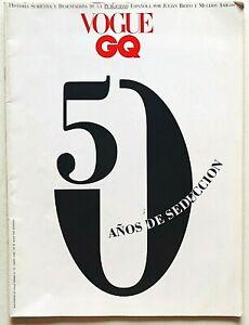 Vogue España Spagna Spain GQ HIstoria de la publiciad Storia della pubblicità