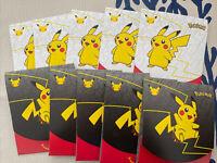 McDonald's Pokemon Cards pack x10  2021 25th anniversary - UK Seller - In hand
