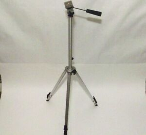 Vintage Velbon Camera Tripod TGK-33 Aluminum with Cable Release