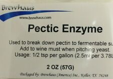 Pectic Enzyme 2oz enzyme Fruit Wine Making Increased Yield and Clarity fast