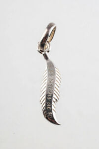 Links of London Womens Sterling Silver Life Begins At 40 Feather Charm Pendant