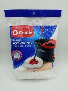 O-Cedar EasyWring Spin Mop Microfiber Refill NEW SEALED Package