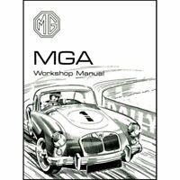 Mga 1500 1600 Official Repair Workshop Manual 1955-62 Restoration Guide book