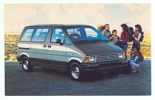 1986 Ford Aerostar Wagon (not mailed Post Card(autoA#289*2
