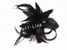 Feather Flower Headband Fascinator Weddings Ladies Day Race Royal Ascot SF7092