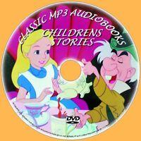 CLASSIC CHILDRENS NOVELS WIZARD OF OZ ALICE HEIDI 80+ MP3 AUDIOBOOKS PC DVD NEW