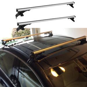 Car Top Roof Rack Cross Bar Luggage Cargo Carrier Rails Aluminum For Mazda 6