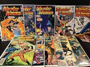 DC Wonder Woman Lot # 240,245,246,248,261,262,263,264,265,266,267 ~4.0-7.0~ (RC)