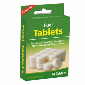 48 x  Solid Fuel Hexi / Hexamine Tablets For Camping Stoves & Steam Engines