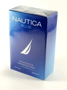 Nautica Blue Cologne Best Top Popular Men Perfume Spray Authentic 3.4 oz 100ml