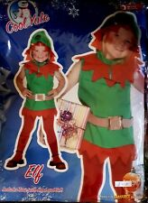 ELF Christmas Tunic with Hood and Belt,  2-3 years, a great Christmas Tunic