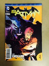 BATMAN ANNUAL #3 1ST PRINT DC COMICS (2015)NEW 52 JOKER END GAME TIE IN TYNION