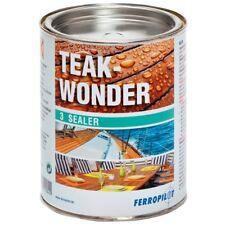 Ferropilot TEAK WONDER Sealer sigillo per varie tipi di legno