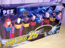 STAR TREK THE NEXT GENERATION PEZ COLLECTOR SERIES, NIB, 2012