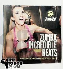 ZUMBA CD only INCREDIBLE BEATS fitness NEW shipped in plasticcase for protection