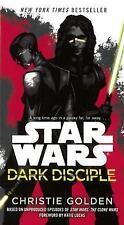 Star Wars Dark Disciple by Christie Golden (2016, Hardcover, Prebound)