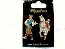 Disney * FLYNN & MAXIMILLION * 2 Pin Rapunzel Hero Set * New on Card