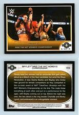 Bayley #109 WWE Road To Wrestlemania 2016 Topps Trading Card