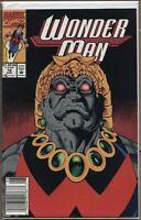 Wonder Man 1991 series # 12 UPC code very fine comic book
