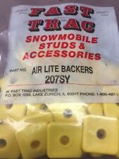 Fast Trac Yellow Square Backers