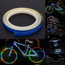 Reflective Stickers Bike Bicycle Motor Wheel Rim Decal Reflection film