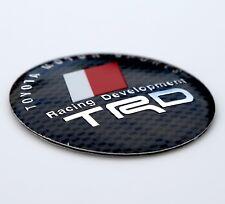 "3D Metal TRD Toyota Racing Development Sticker Decal Emblem 2.2"" DOME SHAPE"