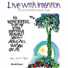 2014 Live With Intention Mini Wall Calendar by Brush Dance Publishing