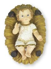 Christmas Nativity Scene Baby Jesus in a Manger Set Xmas Traditional Decoration