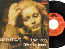 """PATTY PRAVO """"LOVE STORY"""" RARO 45GIRI STAMPA SPAGNOLA"""