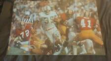 "RARE 1973 Larry Csonka 22x34"" Sports Illustrated Poster Super Bowl"