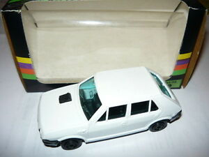 MERCURY 50 FIAT RITMO BERLINA AUTOMODELLO SCALA 1/43 MODEL CAR MINT BOX