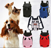 Dog Carrier Cat Puppy Pet Front Back Backpack Shoulder Carry Sling Bag Pouch A