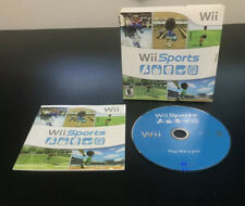 Nintendo Wii Sports (Wii, 2006) Complete CIB Tested Working Great