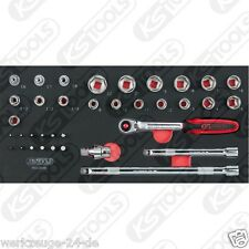 "KS Tools BBA CROMO 3/8 "" INSIEME zoccolo, 36-tlg 1/3 systemeinlage 783.0036"