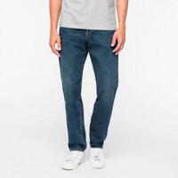 "Men`s New Branded Classic Fit Straight Leg Jeans Size W42""-L30"" Dark Wash"