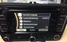 ORIGINALE Autoradio navigazione VW RNS 315 Golf VII PASSAT CADDY Bluetooth