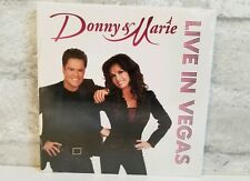 BNIP Donny & Marie Osmond Live In Las Vegas CD Rare OOP 2011 Brand New Sealed