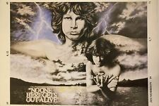 """Jim Morrison """"No One Here Gets Out Alive"""" Poster 24 X 34"""