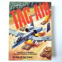 Tac Air Avalon Hill Bookcase Board Game War Land Air Battles Seams Complete READ