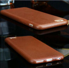 Luxury Thin Leather Grain Soft TPU Case Cover For Apple iPhone 5 5S 6 6s Plus AU