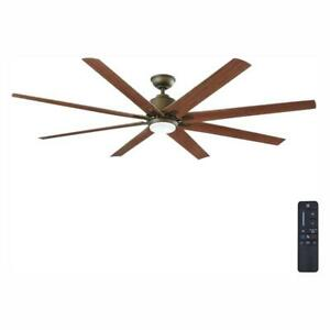 """Kensgrove 72"""" LED Indoor/Outdoor Espresso Bronze Ceiling Fan with Remote Control"""