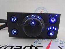 VAUXHALL VECTRA C 02-09 / SIGNUM BLUE LED HEADLIGHT SWITCH - FRONT & REAR FOGS